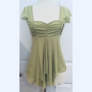 New Anthropologie Sweet Pea Small S Top